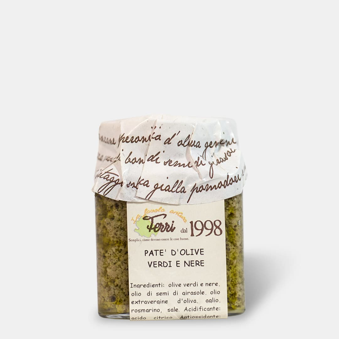 Crema di olive verdi 170g