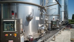 Impianto produzione vino industriale Frontenac