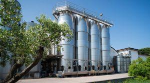 Produzione vino in cisterne Frontenac