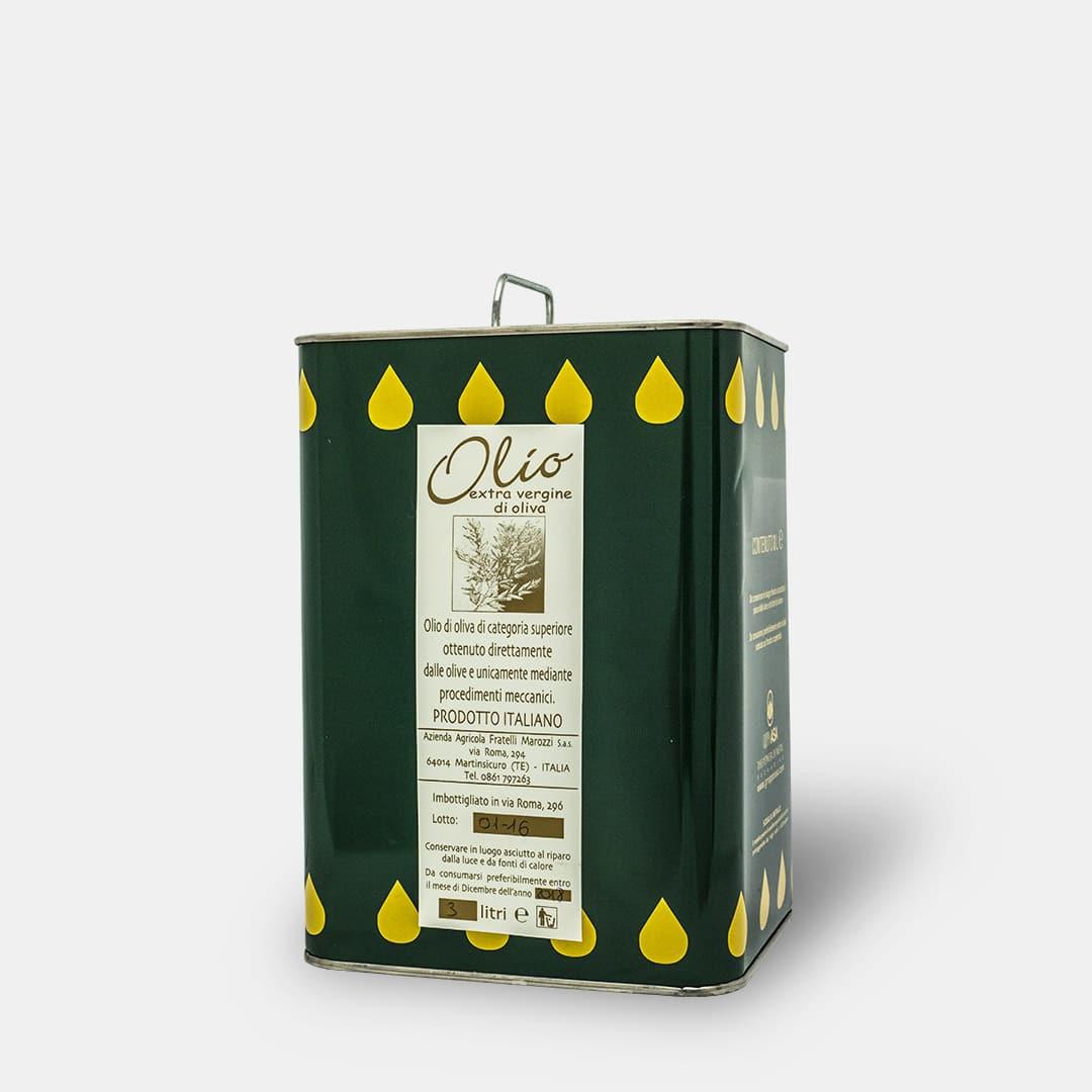 Olio Extravergine di Oliva 3 litri