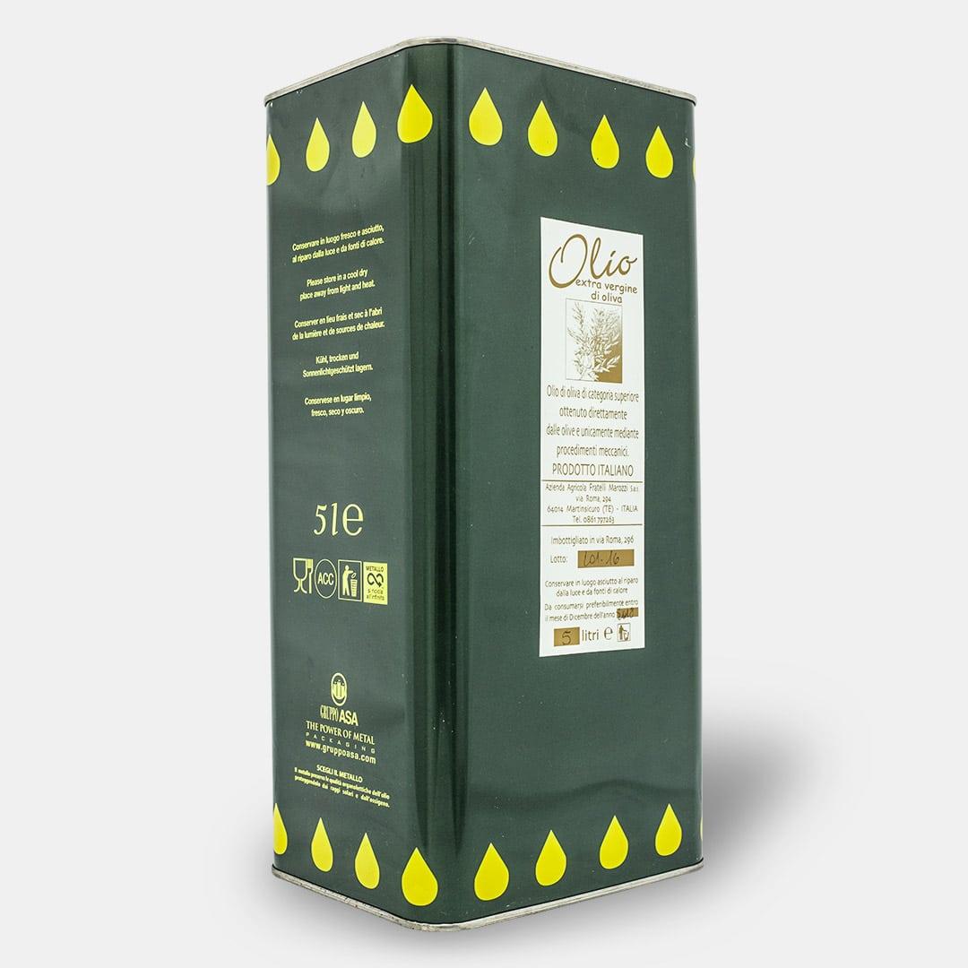 Olio Extravergine di Oliva 5 litri